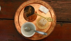 Bosnian coffee and Turkish delight