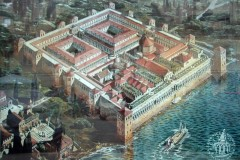 Diocletian's Palace, Split - how it looked back in 3rd century AD