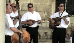 Band playing at Rector's Palace - Dubrovnik, Croatia