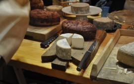 goat cheeses at Kumparicka