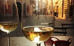 Ljubljananjam wine in old town