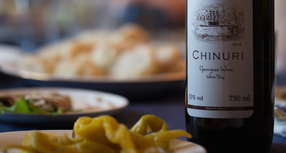 Taste Amazing Georgia Tour - Georgian dumplings and wine
