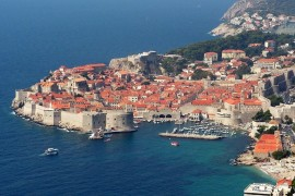 Walled city of Dubrovnik, Croatia