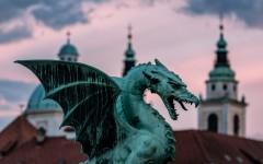 Ljubljana Dragon - Ljubljana, Slovenia