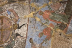 Fresco in Vardzia cave church
