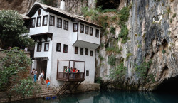 Blagaj dervish house