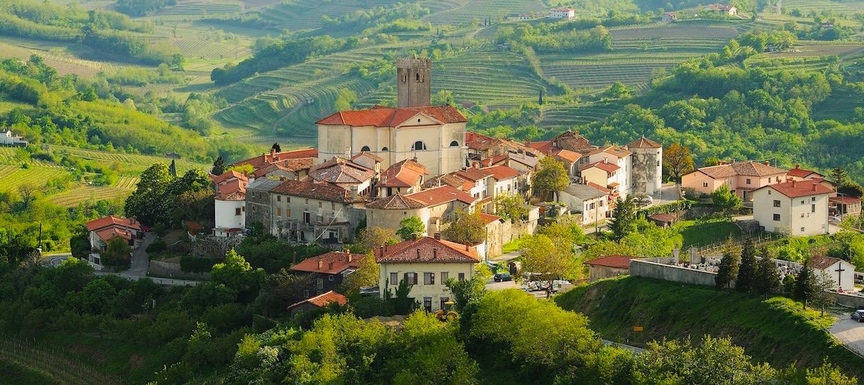 Slovenia's Smartno hill town
